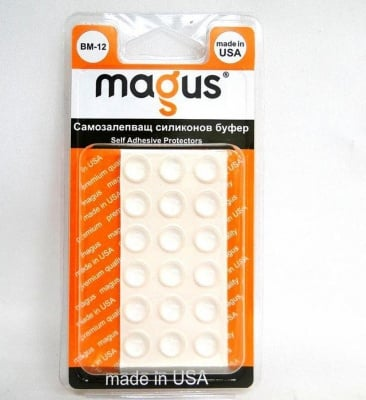 Самозалепващи буфери прозрачни 18 бр. - Magus