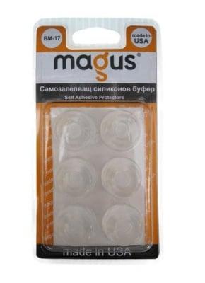 Самозалепващи буфери прозрачни 6 бр. - Magus