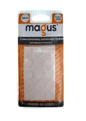 Самозалепващи буфери прозрачни 15 бр. - Magus