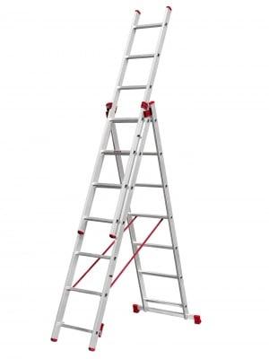 Алуминиева стълба 3х9