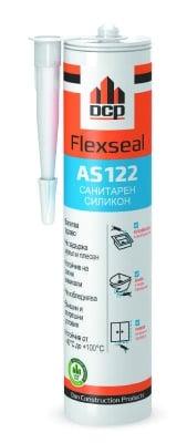 Санитарен силикон Flexseal AS122 - бял