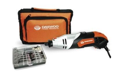 Комплект бързооборотна машина+120 аксесоара DADG233 Daewoo