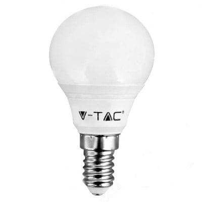 LED крушкa 3W Е14 6400K V-TAC