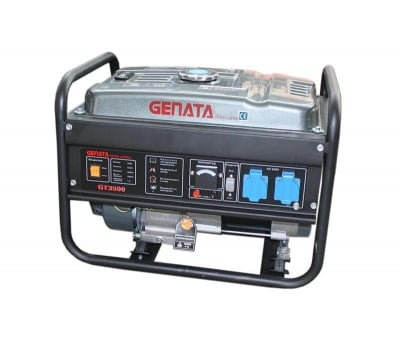 Бензинов Генератор 3 kW GT 3500 - Genata