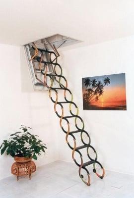 Таванска стълба 1000 x 700 мм. Lusso ZP