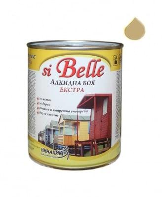 Алкидна боя si Belle Екстра млечно бежева