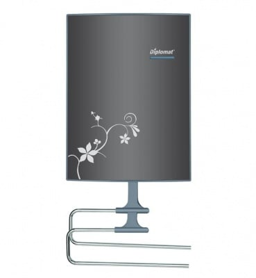 Вентилаторна отоплителна печка за баня  DPL VTB 9010B - Diplomat