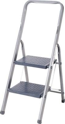 Алуминиева стълба с PVC стъпала - 2