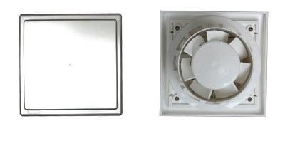 Квадратен вентилатор без клапа ОК 01