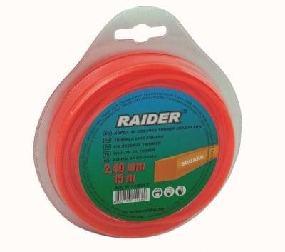 Корда за тример - квадратна 1.65 мм. / 15 м. - Raider