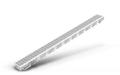 Канал с пластмасова решетка 100/35 SELF - LINE - LEXON