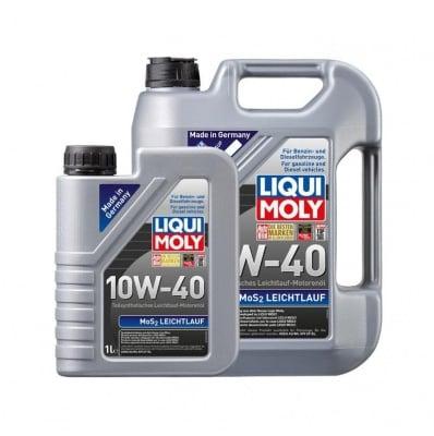 Моторно масло Liqui Moly  MoS2 LEICHTLAUF 10W-40 5 литра