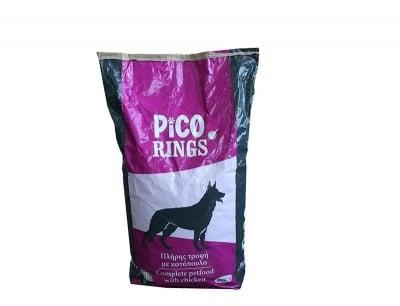 ХРАНА ЗА КУЧЕТА PICOVIT DOG RINGS 20 КГ.