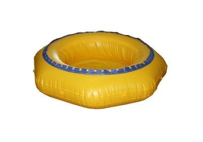 Надуваем басейн с батут 160 X 28 см.