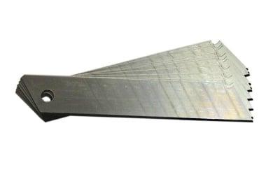 Резервен макетен нож 18 мм. - 10 бр.