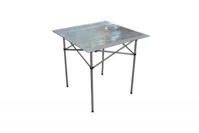 Сгъваема алуминиева маса 70 х 70 см.