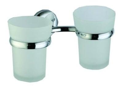 Двойна поставка за четка за зъби ICA 9068 - Inter Ceramic
