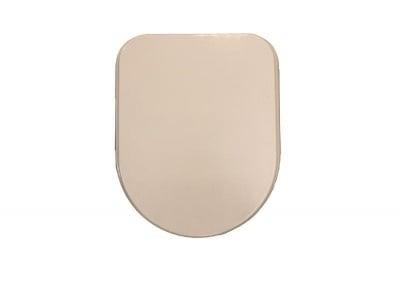 Капак за тоалетна - светло кафяв