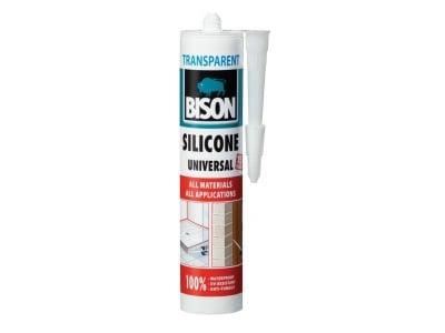 Универсален силикон Bison прозрачен