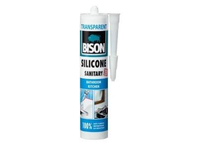 Санитарен силикон Bison бял