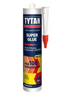 Монтажно леипило  Super Glue RB20 Tytan Professional
