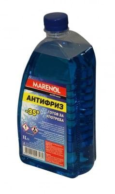 Антифриз разреден - 35 C° 1 л. - Marenol