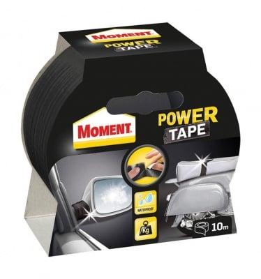 Универсална лента Power Tape черна  10 м. - Moment