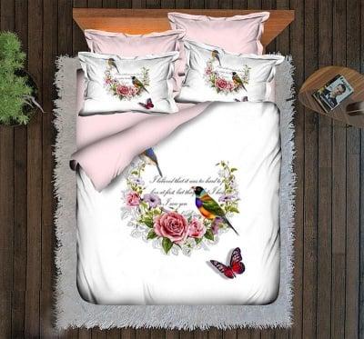 Спален комплект 3D Bird - Roxyma Dream