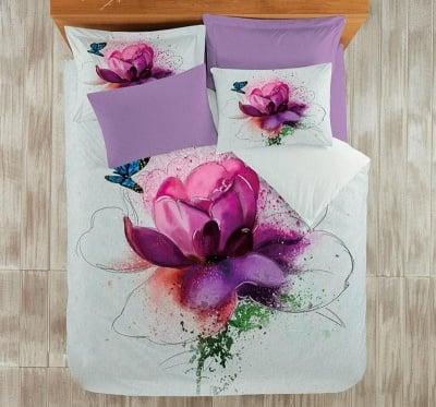 Спален комплект 3D Violet - Roxyma Dream