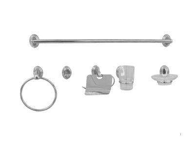 Комплект аксесоари за баня 6 части - Inter Ceramic