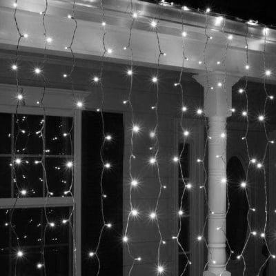 Оризови лампички тип завеса 100 бр. бели - Enigma lights
