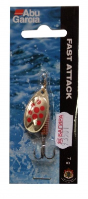 БЛЕСНА FAST ATTACK 3 SILVER/RED DOTS - 1142922