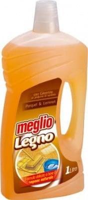 Почистващ препарат за паркет Meglio, 1 л.