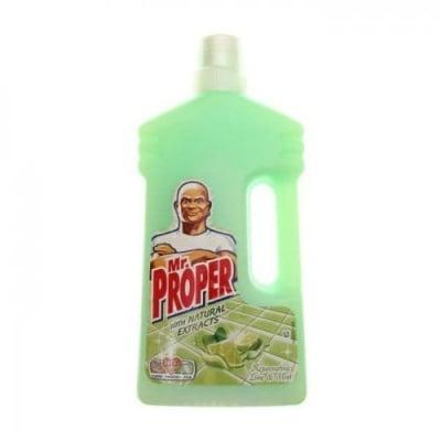 Универсален почистващ препарат Mr.Proper Lime/Мint