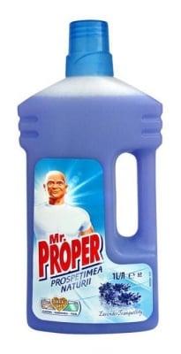 Универсален почистващ препарат Mr.Proper Lavender