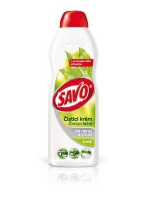 SAVO почистващ крем, лимон - 500 гр.