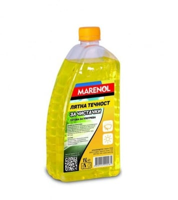 Лятна течност за чистачки Marenol 1 литър