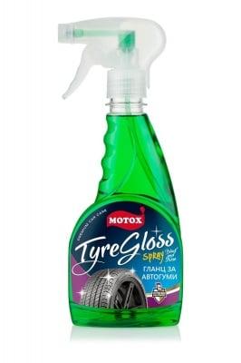 Гланц за автогуми Motox Tyre Gloss spray