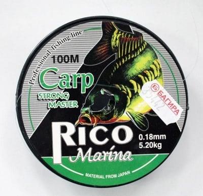 КОРДА RICO MARINA 0,18 мм.