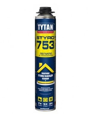 Пистолетно лепило за топлоизолация STYRO 753 Tytan Professional