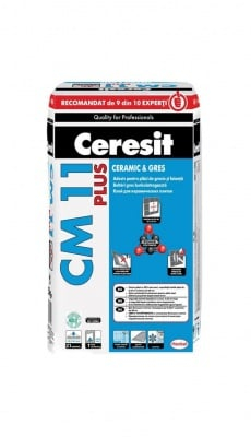 Лепило за керамика 25 кг. CM 11 Plus - Ceresit