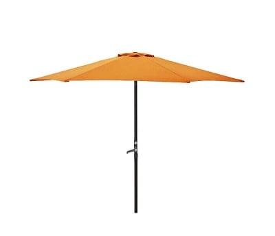 Градински чадър оранж