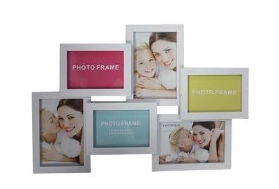 Рамка за снимка 3246-2 - бяла