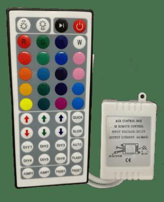 Контролер IR ЗА RGB LED осветление