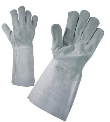 Работни ръкавици от естествена кожа MERLIN