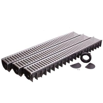 Гаражен пакет Garage Pack 4ALL 3 броя - решетка от поцинкована стомана