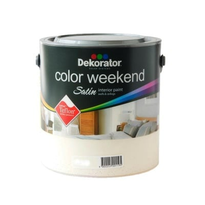 Латекс Color Weekend satin teflon Dekorator