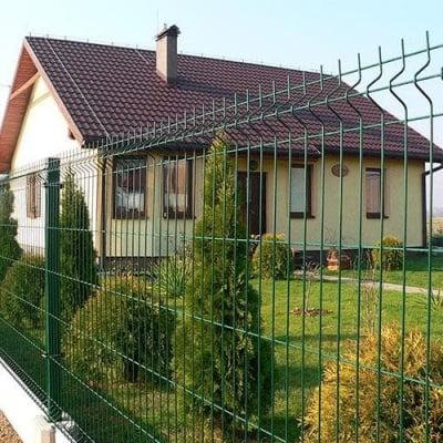 Оградно пано- зелено 1730/2510 мм.