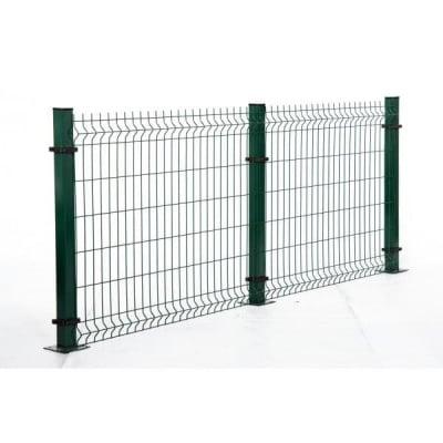 Кол с планка  за оградно пано H175
