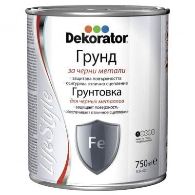 Грунд алкиден ДЕКОРАТОР ПФ-02 /червен/